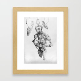 Automa III Framed Art Print