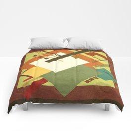 Geometric illustration 3 Comforters