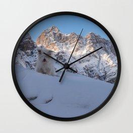 Winter 04 Wall Clock