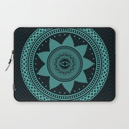 Eye of Protection Mandala Laptop Sleeve