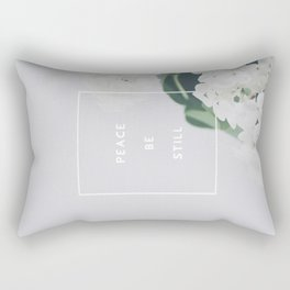 Peace, Be Still Rectangular Pillow