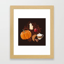 Rustic Fall Framed Art Print