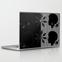 afro Laptop & iPad Skins featuring afro by Kathead Tarot/David Rivera