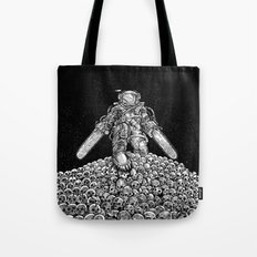 Texas Chainsaw Astronaut: New Moon Tote Bag