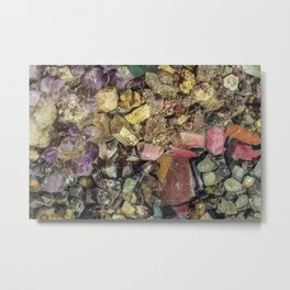 Gems collection 4 Metal Print