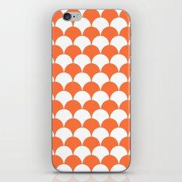Fan Pattern 321 Orange iPhone Skin