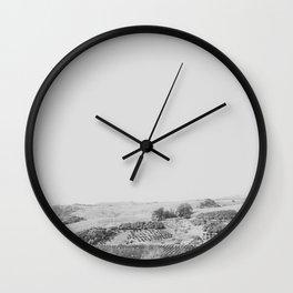 this land | santa barbara, california Wall Clock