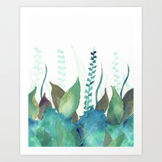 Botanical vibes 04 Art Print