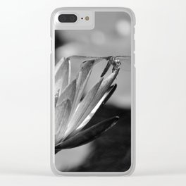 Dragonfly and the Lily Clear iPhone Case