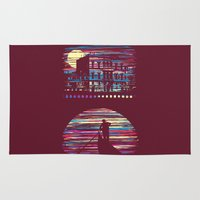 venice Area & Throw Rugs featuring Venice by daletheskater