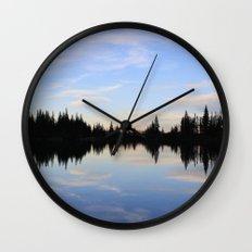 Salmon Lake Wall Clock