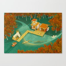 eTang Canvas Print