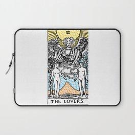 Modern Tarot Design - 6 The Lovers Laptop Sleeve