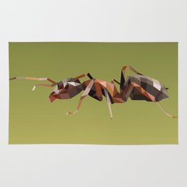 Geometric Ant Rug