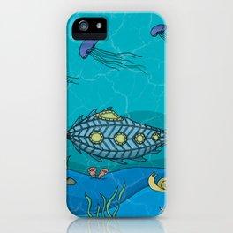 Nautilus under the sea iPhone Case