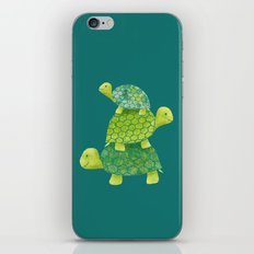 Turtle Stack iPhone & iPod Skin