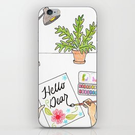 Hello Dear iPhone Skin