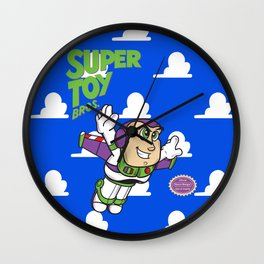 Super Toy Bros. Wall Clock