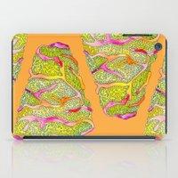 seashell iPad Cases featuring Seashell by Lupimazz