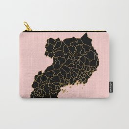 Uganda map Carry-All Pouch