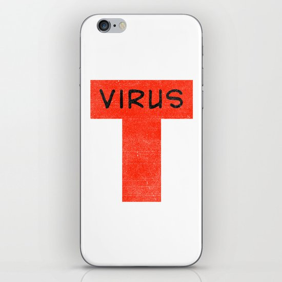 T virus iPhone & iPod Skin