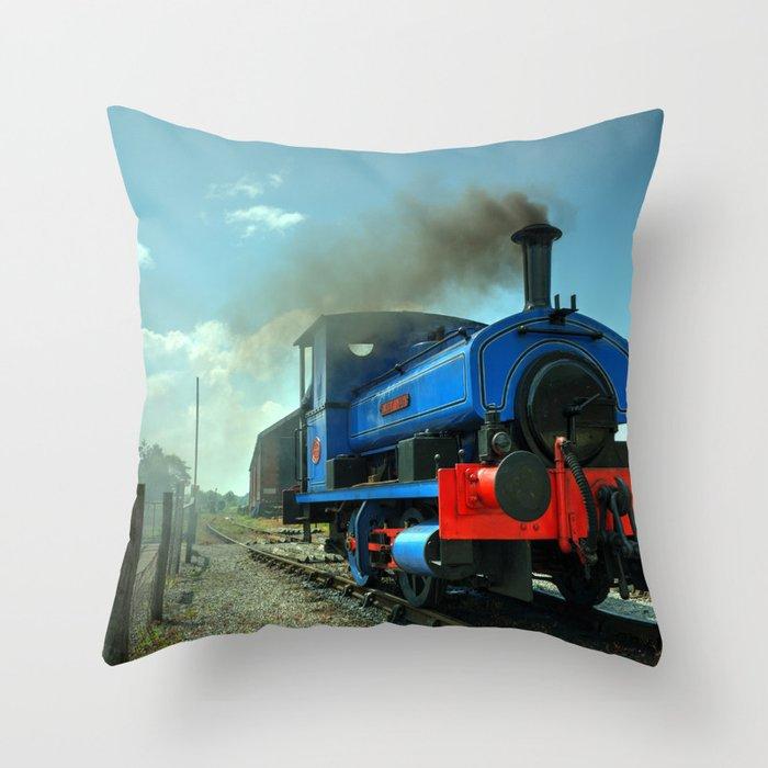 Lady Nan at Cranmore Throw Pillow