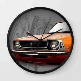 Toyota Corolla TE27 Wall Clock