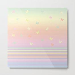 Pattern butterfly 184 Metal Print