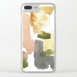 Great New Heights Abstract Clear iPhone Case