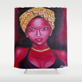 Ms. Intentional  Shower Curtain