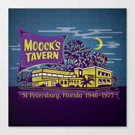 Moock's Tavern Canvas Print