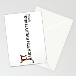 Fucketh Everything: 20 Something Shakespeare Stationery Cards