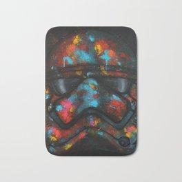 StarWars Stormtrooper Abstract Splash Painting Bath Mat