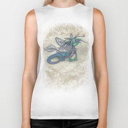 Dragonfly Dragon Biker Tank