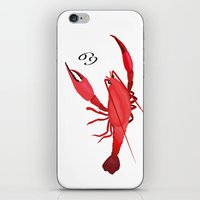 cancer iPhone & iPod Skins featuring Cancer by Rejdzy