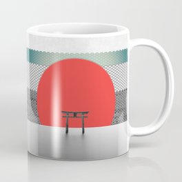 The Red Sun Coffee Mug