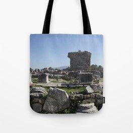 Excavations of Gortyn Tote Bag