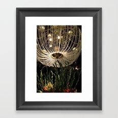 Hotel Del Coronado Chandelier  Framed Art Print