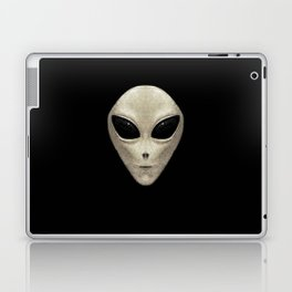 Grey Alien Laptop & iPad Skin