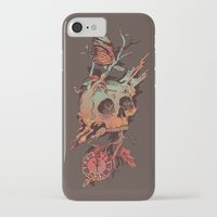 et iPhone & iPod Cases featuring Mors et Natura by Norman Duenas