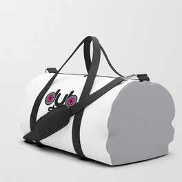 Dubstep Speakers Rave Quote Duffle Bag