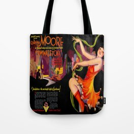 Vintage Film Advert of 1926 - Colleen Moore Tote Bag