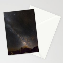 Milky way at 3400 meter hight. Scorpius and Sagitarius Stationery Cards