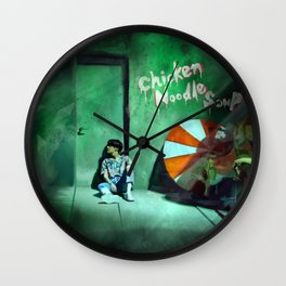 Chicken Noodle Soup Wall Clock