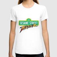 sesame street T-shirts featuring Sesame Street Fighter by Franz24