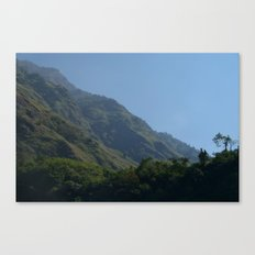 Lush Scenery Ghasa to Tatopani Canvas Print