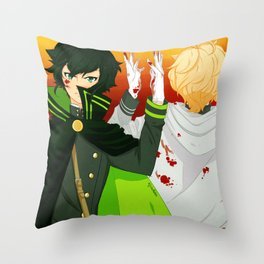 Bloody Pride Throw Pillow