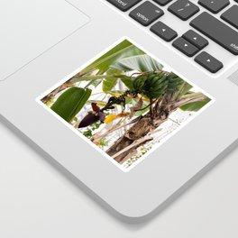 Plantain Tree Sticker
