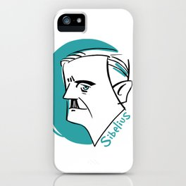 Jean Sibelius #4 iPhone Case