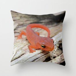 The Charismatic Newt Throw Pillow